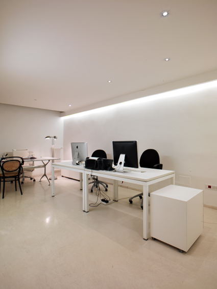 Marcello panza studiominimo for Design ufficio napoli